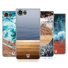 HEAD CASE DESIGNS SEA AND WOOD PRINTS HARD BACK CASE FOR BLACKBERRY PHONES