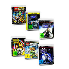 PS3 JUEGO STAR WARS THE Fuerza Soltado CLONE WARS LEGO STAR WARS SAGA COMPLETA