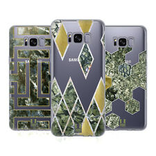 HEAD CASE DESIGNS CLASSY STONE PRINTS SOFT GEL CASE FOR SAMSUNG PHONES 1
