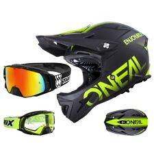 ONEAL Warp DOWNHILL DH mountainbike CASCO NERO GIALLO OPACO TWO-X Rocket