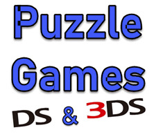 Nintendo DS / 3DS Puzzle Games Choose Your Game From List