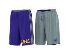 ADIDAS NBA LOS ANGELES [ GR. 164 // 176  ] WENDESHORT SHORT SMRRN REV SHORT NEU