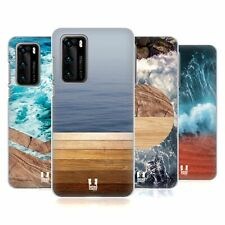 HEAD CASE DESIGNS SEA AND WOOD PRINTS HARD BACK CASE FOR HUAWEI PHONES 1