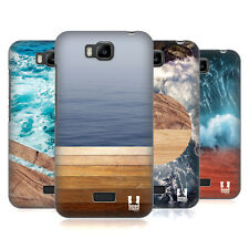 HEAD CASE DESIGNS SEA AND WOOD PRINTS HARD BACK CASE FOR HUAWEI PHONES 2