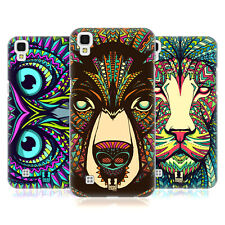 HEAD CASE DESIGNS AZTEC ANIMAL FACES HARD BACK CASE FOR LG PHONES 2