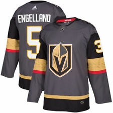 Deryk Engelland Vegas Golden Knights adidas Authentic Player Jersey - Gray
