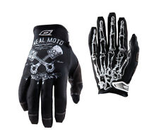 Oneal Jump Guantes PISTONS Negro Blanco ENDURO Mx Dh Motocross Guante