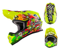 ONEAL 3Series Casco da cross CRANK giallo fluo enduro downhill motocross XS-XXL