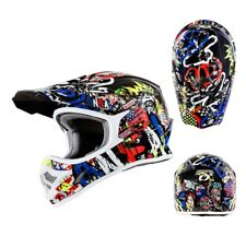 oneal Casco da cross 3Series Rancid MX motocross Enduro casco MULTI COLORATO