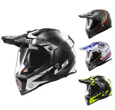 LS2 MX436 PIONEER CASCO PER ENDURO ADVENTURE CASCO CON VISIERA