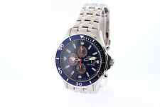 Men's Citizen CA0540-56L Eco-Drive Stainless Blue Chronograph Dial Date Watch