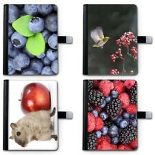 hairyworm FRUTA Apple iPad Funda de piel, 360 Giratorio tableta para I PAD