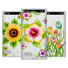 HEAD CASE DESIGNS WATERCOLOURED FLORALS SOFT GEL CASE FOR BLACKBERRY PHONES