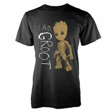 New Official MARVEL GUARDIANS OF THE GALAXY VOL 2 - I AM GROOT SCRIBBLES T-Shirt