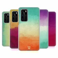HEAD CASE DESIGNS WATERCOLOURED OMBRE SOFT GEL CASE FOR HUAWEI PHONES