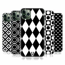 HEAD CASE DESIGNS BLACK AND WHITE PATTERNS SOFT GEL CASE FOR APPLE iPHONE PHONES