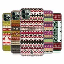 HEAD CASE DESIGNS KNITTED CHRISTMAS SOFT GEL CASE FOR APPLE iPHONE PHONES