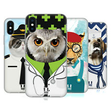 HEAD CASE DESIGNS ANIMALS AND PROFESSION SOFT GEL CASE FOR APPLE iPHONE PHONES