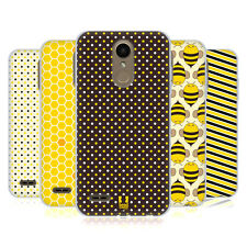 HEAD CASE DESIGNS BUSY BEE PATTERNS SOFT GEL CASE FOR LG PHONES 1