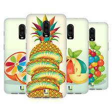 HEAD CASE DESIGNS COLOURFUL FRUITS SOFT GEL CASE FOR AMAZON ASUS ONEPLUS
