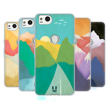 HEAD CASE DESIGNS COLOURFUL MOUNTAINS SOFT GEL CASE FOR AMAZON ASUS ONEPLUS