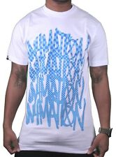 In4mation Hawaii uomo Cardinale rosso o bianche a scacchi Blues t-shirt