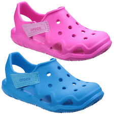 Crocs Swiftwater Wave Clogs Childrens Croslite Kids Boys Girls Shoes Sandals