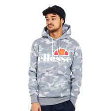 ellesse - Gottero OH Hoody Grey Camo Kapuzenpullover Hooded Sweater