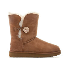 Womens Ugg Australia Bailey Button 11 Boots In Chestnut From Get The Label