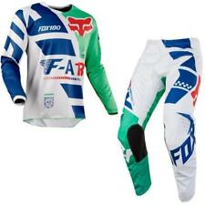 FOX 180 SAYAK  Motocross Jersey + Hose 2018 - grün Motocross Enduro MX Cross