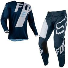 FOX 180 MASTAR Motocross Jersey + Hose 2018 - blau Motocross Enduro MX Cross