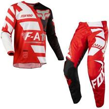 FOX 180 SAYAK Motocross Jersey + Hose 2018 - rot Motocross Enduro MX Cross