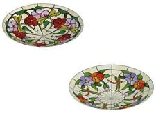 Tiffany Ceiling Light Fitting Lampshade Dragonfly Stained Glass Shade