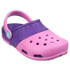 Crocs Electro II Clogs Girls Summer Beach Croslite Kids Childrens Sandals Shoes