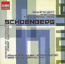 JEFFREY TATE / SIGNORE Simon Rattle - Schoenberg: Orchestral Works NUOVO CD