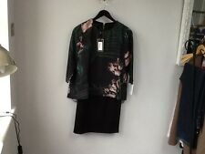 BNWT Stunning Ladies Ted Baker Palm Floral Tunic Dress, UK Size 10, Tagged