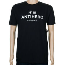 Anti Hero Chernobyl Hero No 18 T-Shirt Black skateboard