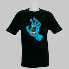 Santa Cruz Screaming Hand Front Print T-Shirt Black skateboard