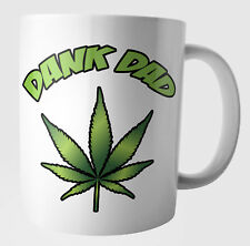 Funny Weed Cannabis Leaf Birthday Fathers Day Christmas Gifts -  Dank Dad