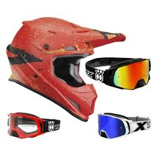 THOR SECTOR CAMPAGNA PUBBLICITARIA Casco da cross motocross NERO TWO-X Rocket