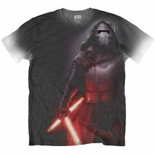 Star Wars T Shirt: Episode VII Kylo Ren Side Print - Official Merchandise