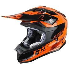 just1 j32 PRO KICK Casco da motocross 2018 - ORANGE MOTO CASCO ENDURO MX Cross