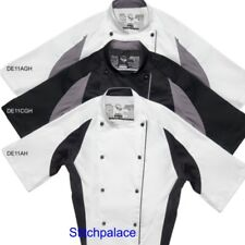 Le Chef Laundry Tough Hardwearing Staycool Chef Jacket Removable Studs