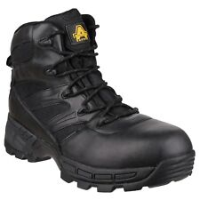 Amblers FS410 Piranha Safety Boots Mens S3 Steel Toe Cap Waterproof Leather Work