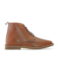 Mens Ben Sherman Larry Leather Boots In Tan From Get The Label