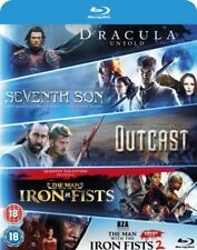 Seventh Son /Dracula Untold/ Outcast/ Man With The Iron Fists 1 Y 2 BLU-RAY N