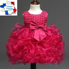 DRESS BABY GIRLS CEREMONY PRINCESS  GLITTER SEQUIN WEDDING PARTY +FREE SHIPPING!