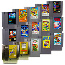 Juego Nes Super Mario Bros Mega Man Zelda Kid Icarus Metroid Duck Tales Turtles