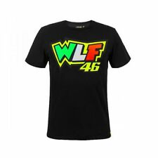 T-SHIRT MOTOGP 2018 VALENTINO ROSSI THE DOCTOR 46 BLACK WLF MAN