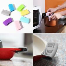 Silicone Hot Pot Holder Oven Gloves Mini Oven Mitts Cooking Pinch Kitchen  Grips